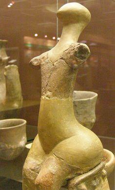 Sitting Venus of Hrádok| Late Neolithic