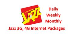 Jazz telecom network offered Jazz daily internet packages, Jazz weekly internet packages, and Jazz monthly internet packages code of activation and deactivation along with complete detail of packages rate. Jazz Internet, 4g Internet, Internet Packages, Free Jazz, Packaging, Coding, Activities, Detail, Text Posts