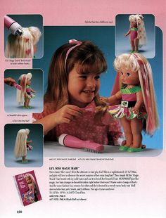 Lil' Miss Magic Hair - she was so cute! #nostalgia #retro #toys