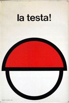 EUGENIO CARMI LA TESTA! Italsider, 1965.  (Fondazione Ansaldo, Genova)