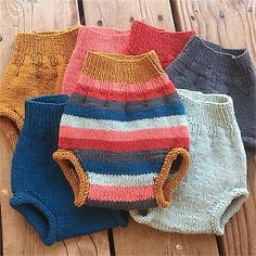 Hand-knit Organic Wool Soakers | One Love Diaper Co.