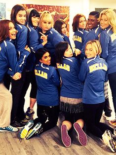 Say hello to the cast of Pitch Perfect 2!