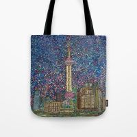 Design your everyday with bags you'll love for errands, shopping or the beach, featuring stylish designs from independent artists worldwide. Reusable Tote Bags, City