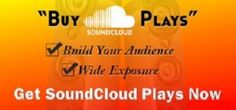 Get 20.000+ #SoundCloud #Plays to your #Music #Track for only $5. Build your audience and gain wide exposure with this offer! Check here for more details: http://digesale.com/jobs/internet-marketing/i-will-send-20-000-real-soundcloud-plays-to-your-music-track/