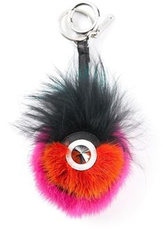 Pin for Later: Pimp Your Purse With the Cutest Bag Charms and Accessories Fendi Fur Bag Charm Fendi Fur Bag Charm (£400)
