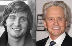Michael Douglas (1969 & 2013) - Getty Images/Getty Images; Michael Ochs Archives/Getty Images