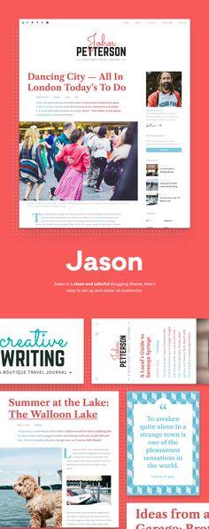 Jason – Editorial WordPress Theme by Pixelgrade
