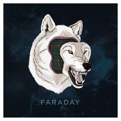 ...ilustración para el grupo faraday