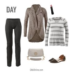 #CAbi – Transition your pants from day to night! Click on the image and see how we transition more CAbi Fall pieces. #cabiclothing #fallfashion #falloutfits