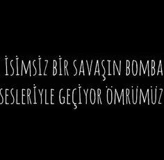 İsimsiz bir savaşın bomba sesleriyle geçiyor ömrümüz.. Türkiye gündemi ve haberler bu kadar net anlatılamazdı.. Yine terör, hergün terör, yine yas. #ankara