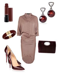 """""""Business casual"""" by allonasada on Polyvore featuring Haider Ackermann, Christian Louboutin, Donald J Pliner, White House Black Market and INC International Concepts"""