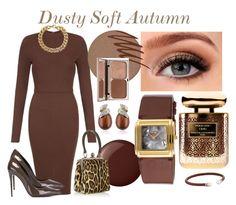 Dusty Soft Autumn by prettyyourworld on Polyvore featuring AX Paris, Dolce&Gabbana, Michael Kors, Belk & Co., Majorica, Activa, Kjaer Weis, Smashbox, Terry de Gunzburg and Charlotte Tilbury