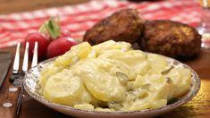 Kartoffelsalat Veggie Recipes, Vegetarian Recipes, Dinner Recipes, Veggie Food, Austrian Recipes, Austrian Food, German Recipes, Cooking Chef, Healthy Sides