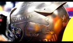 Casco de Vettel diseñado por Jens Munser#GP Mónaco 2014 F1