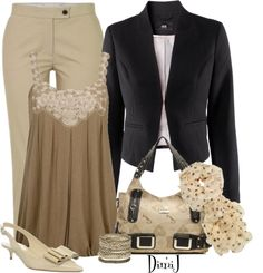 """Office Look - Casual Fridays :)"" by dimij on Polyvore"