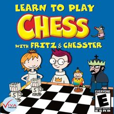 Learn to Play Chess with Fritz and Chesster [Download] Chess Basics, Arcade, Challenges, Play, Learning, Games, Kids, Brain, Software