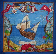 Hermès - Ordre Souverain de Malte, signé Carl de Parcevaux