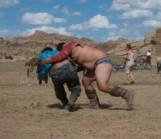 Mongolian Wrestler