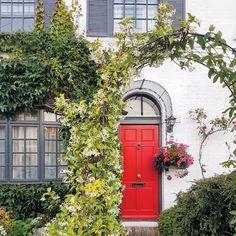 Over Door Porches - Door Canopy Designs - Metal Planters Over Door Canopy, Door Canopy Porch, Porch Awning, Arched Front Door, Front Door Porch, Porch Doors, Door Canopy Designs, Roman Garden, Garden Arches