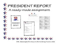 President Report: A Ready-made Assignment