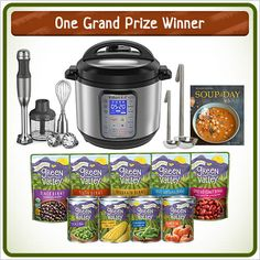 ends 03/20 Enter to win the ultimate soup-making prize pack in our Green Valley SOUPer Fan Sweepstakes!