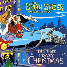 Found Santa Drives A Hot Rod by The Brian Setzer Orchestra with Shazam, have a listen: http://www.shazam.com/discover/track/42627539