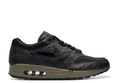 Come for Cheap Hot Air Max 1 Grey Black Olive Shoes, Get Nike Air Max 1 White You Like