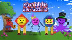 My kids brand project Skribble Skrabble