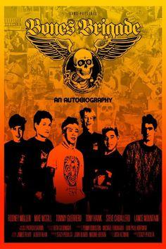 Bones Brigade: An Autobiography Poster Artwork - Tony Hawk, Rodney Mullen, Lance Mountain - http://www.movie-poster-artwork-finder.com/bones-brigade-an-autobiography-poster-artwork-tony-hawk-rodney-mullen-lance-mountain/