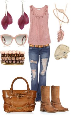 """Feather Light"" by ambiegirl on Polyvore"