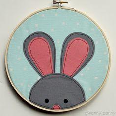 Zelf maken met STOF en VILT - Easter bunny / Paashaas