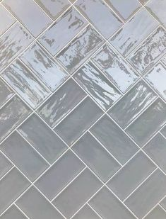 Artisan Grey gloss tile | 10x20cm Ceramic Planet Brick Effect Wall Tiles, Grey Wall Tiles, Brick Tiles, Ceramic Wall Tiles, Wall And Floor Tiles, Brick Wall, Grey Kitchen Tiles, Brick Bathroom, Brick Bonds