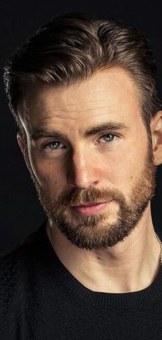 chris evans (fun thing is we have the same eye color, greenish-blue :D)