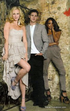 Candice Accola, Steven R. McQueen and Katerina Graham......