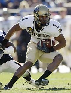 Larry Fitzgerald University of Pittsburgh Panthers 2003 Action Photo Print x Pitt Football, College Football Players, Ncaa College, Football Memes, Football Stadiums, Panthers Football, Football Pics, University Of Pittsburgh, Pittsburgh Sports