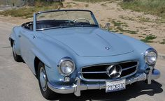 1956 Mercedes Benz #190SL. Seen on: http://www.hemmings.com/classifieds/cars-for-sale/mercedes-benz/190sl/1734904.html. For all your Mercedes Benz #190SL restoration needs please visit us at http://www.bruceadams190sl.com. #BruceAdams190SL.