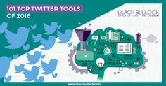 A list of the top 101 Twitter tools of 2016. There's something for everyone in here, from the complete dashboard to niche tools such as for analytics, or for building better relationships on Twitter. #SMProgram