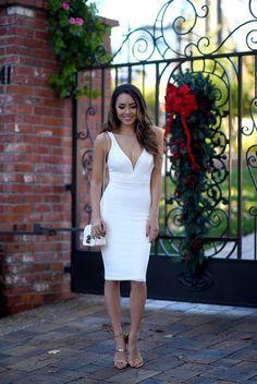 Winter White in Lulus (Hapa Time) Dress Outfits, Fashion Dresses, Hapa Time, Jessica Ricks, Festival Dress, Classy Dress, The Dress, Formal Dresses, Wedding Dresses