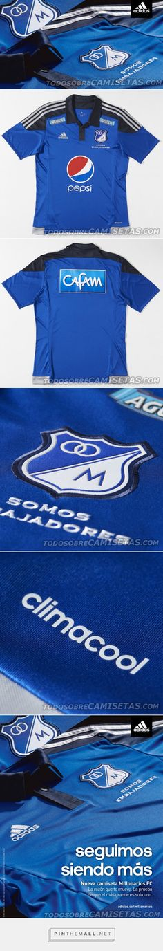 OFICIAL: Camiseta Adidas Millonarios 2015