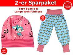 Kindermode - Kinderhose & Easy Beanie nähen, Schnittmuster - ein Designerstück von Trash-Monstarz-Naehshop bei DaWanda