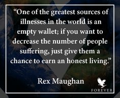 A few profound words from Rex Maughan, the founder of Forever Living... http://link.flp.social/n0wMo9