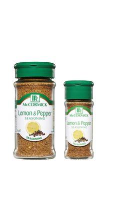 Lemon and Pepper Seasoning Lemon Pepper Seasoning, Italian Cooking, Savoury Dishes, Garlic, Spices, Herbs, Stuffed Peppers, Food, Italian Cuisine
