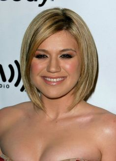 Slimming+Hairstyles+For+Chubby+Faces   long bob the bob is one of the best hairstyles for fat faces when done ...