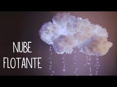 Decora tu cuarto con una nube flotante estilo tumblr, fácil - Tutoriales Belen - YouTube