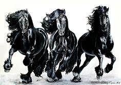 Infinity To my infinite love for friesian horses!