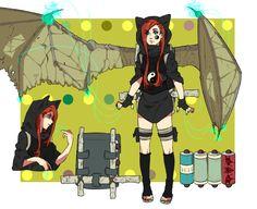 Ninja Persona - Kasane Yayoi by tsurugami on DeviantArt Naruto Girls, Naruto Art, Anime Naruto, Naruto Oc Characters, Fantasy Characters, Gaara, Character Concept, Character Art, Character Ideas