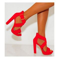 Koi Couture Ladies Vk5 Red High Heels £27.99 (FREE UK Delivery) Item in Stock | Usually dispatched within 24 hours