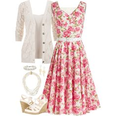 This would be adorable for a springtime wedding.