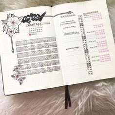 Love the habit tracker on this