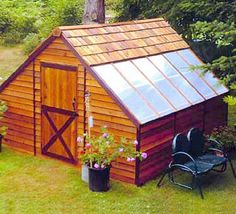 Backyard Greenhouse Ideas inspiration for a contemporary greenhouse remodel in seattle Saw Something Like This In Keukenhof Love It Half Shed For The Hubs Backyard Greenhousesmall Greenhousegreenhouse Ideasbackyard
